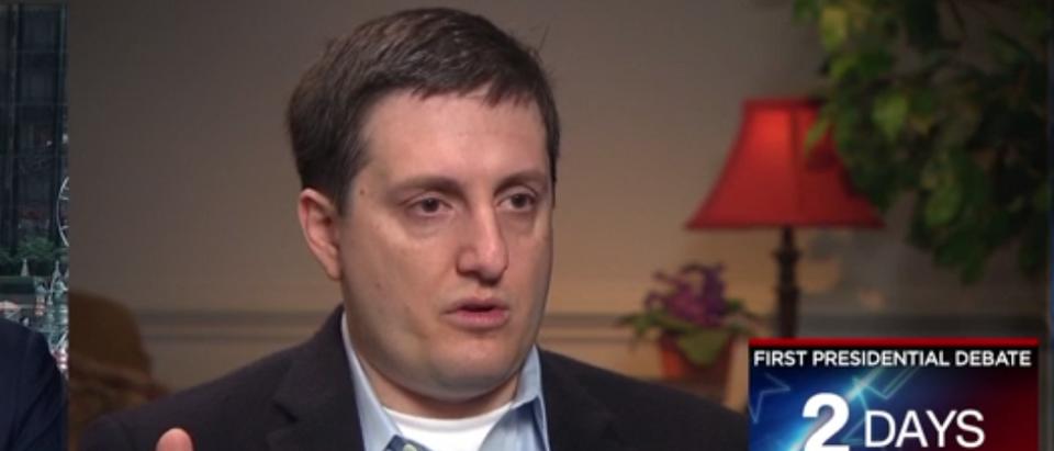 Phillippe Reines on CNN (2013 CNN Video Screen Capture)