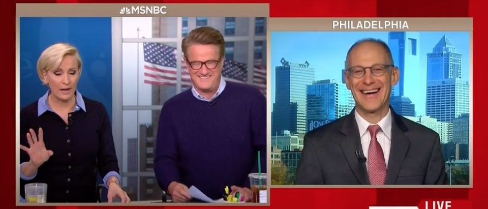 Mika Brzezinski, Joe Scarborough, Ezekiel Emanuel (MSNBC)