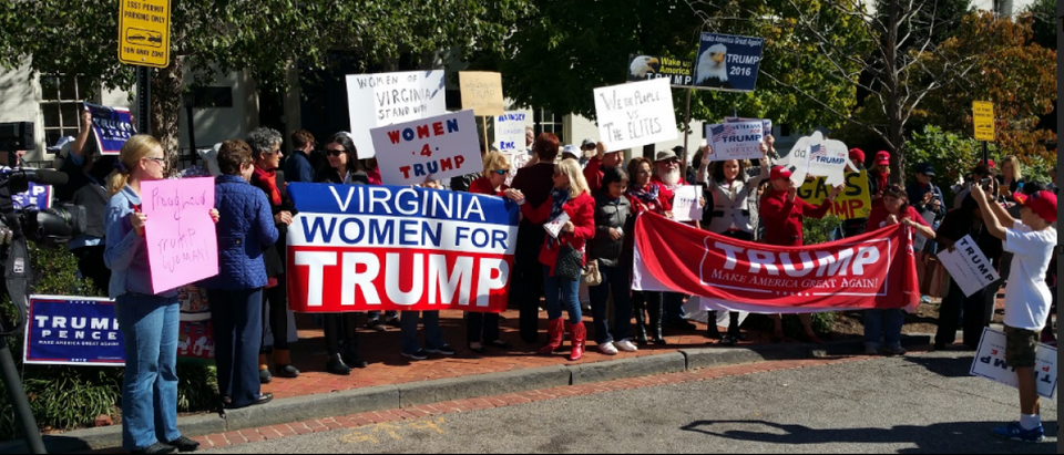Virginia Women For Trump led the charge