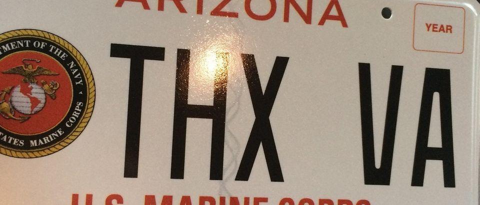 Thanks VA License Plate