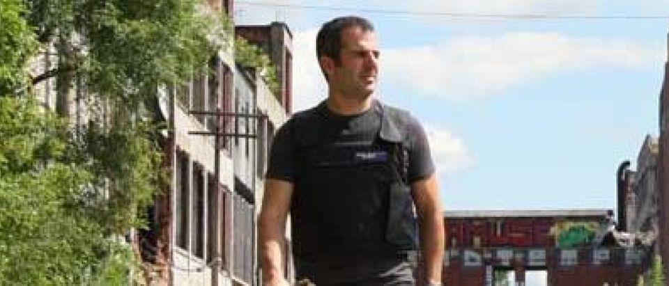 BulletSafe CEO Tom Nardone wears a BulletSafe vest (Photo via BulletSafe.com)
