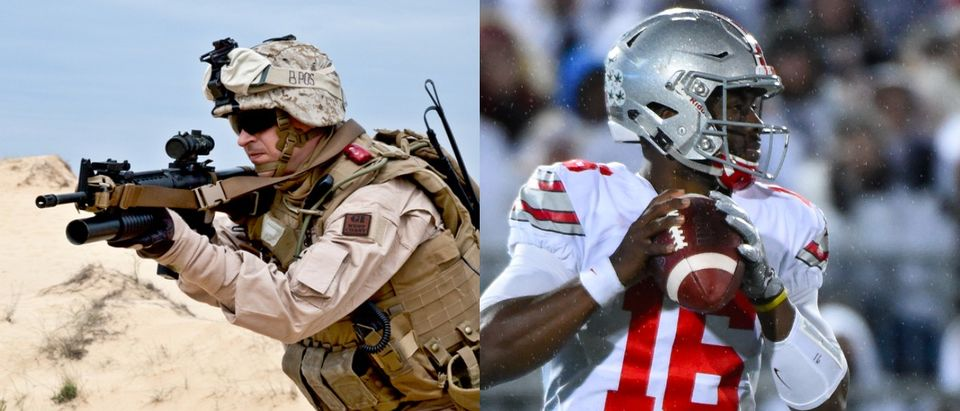 Military teams up with college football to research performance