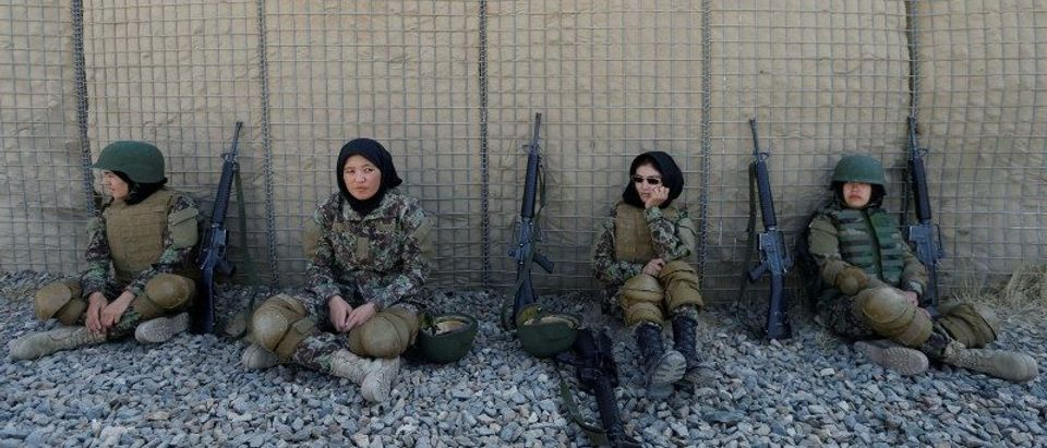 The Wider Image: Training Afghanistan's women soldiers