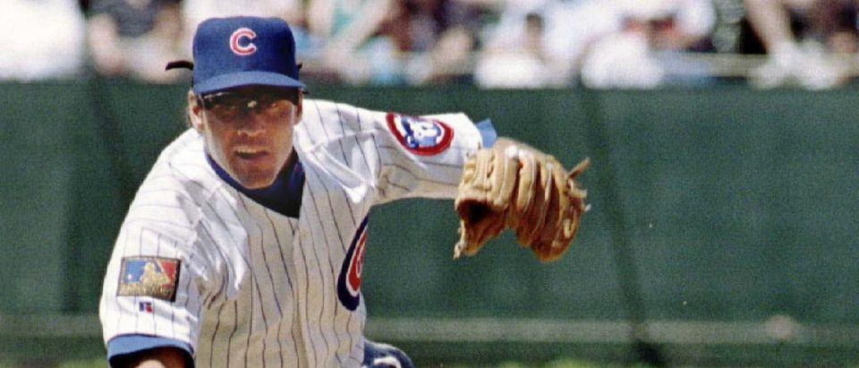 Chicago Cubs second baseman Ryne Sandberg in 1994: Reuters photographer