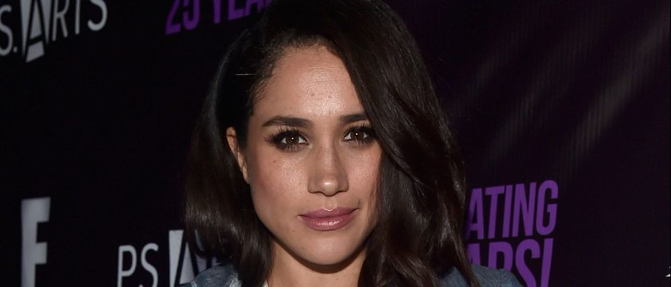 Actress Meghan Markle attends P.S. Arts' The pARTy at NeueHouse Hollywood on May 20, 2016 in Los Angeles. (Photo by Alberto E. Rodriguez/Getty Images)
