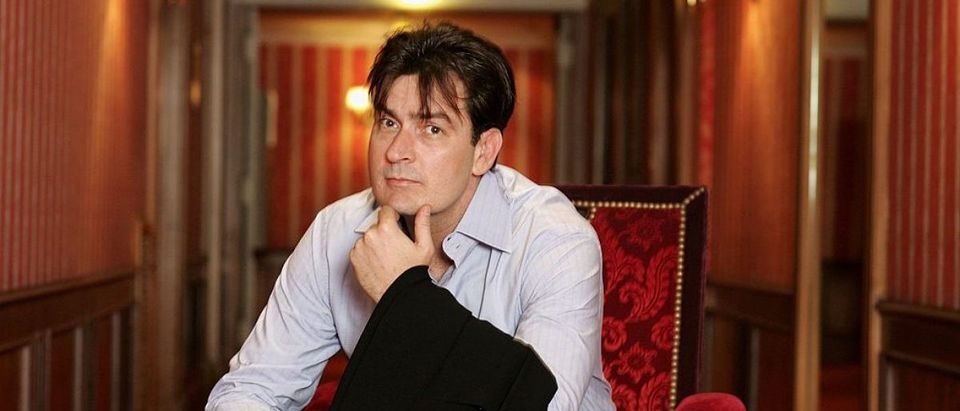 Cannes - Charlie Sheen - Portraits