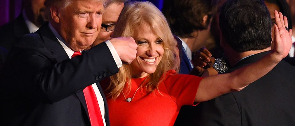 Donald Trump, Kellyanne Conway (Getty Images)