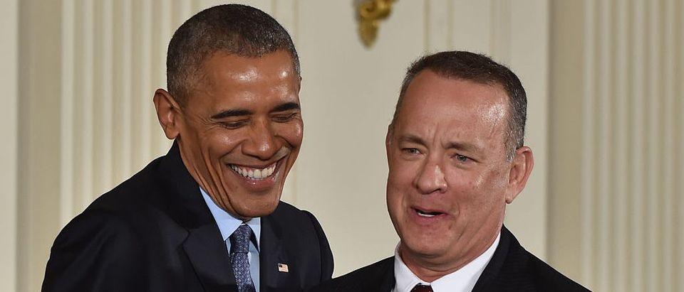 Barack Obama, Tom Hanks (Getty Images)