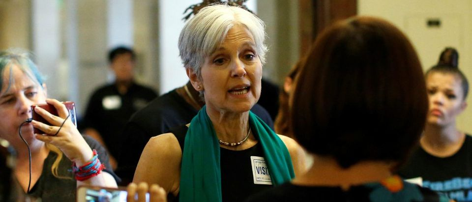 Green Party candidate Jill Stein: Reuters/Mario Anzuoni