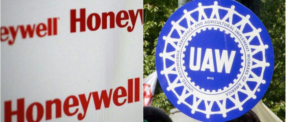 Honeywell:360b/Shutterstock.com, UAW:Glynnis Jones/Shutterstock.com