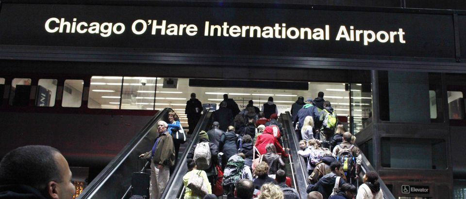 Chicago O'Hare International Airport: REUTERS/Bob Strong