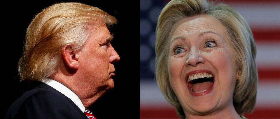 Trump and Clinton Reuters/Eric Thayer, JimYoung