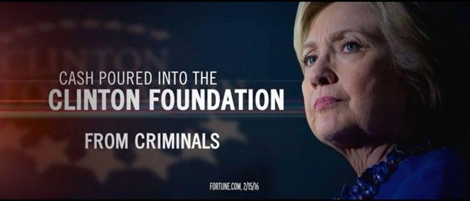 Hillary Clinton in Trump's 'Corruption' Ad (YouTube)
