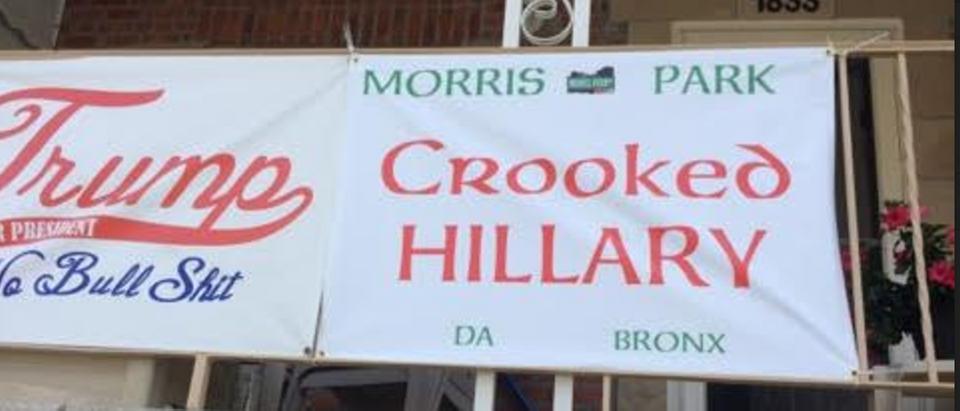 South Bronx NY Trump Banner (Photo: Andy Lombardo)