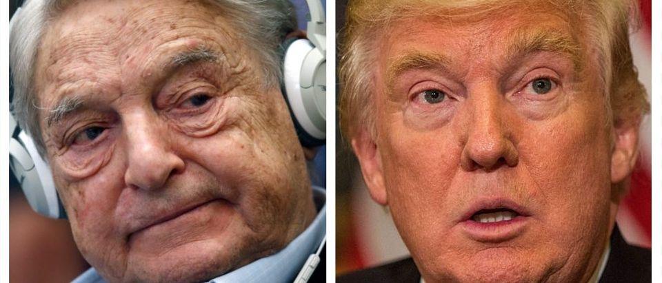 George Soros, Donald Trump (Getty Images)