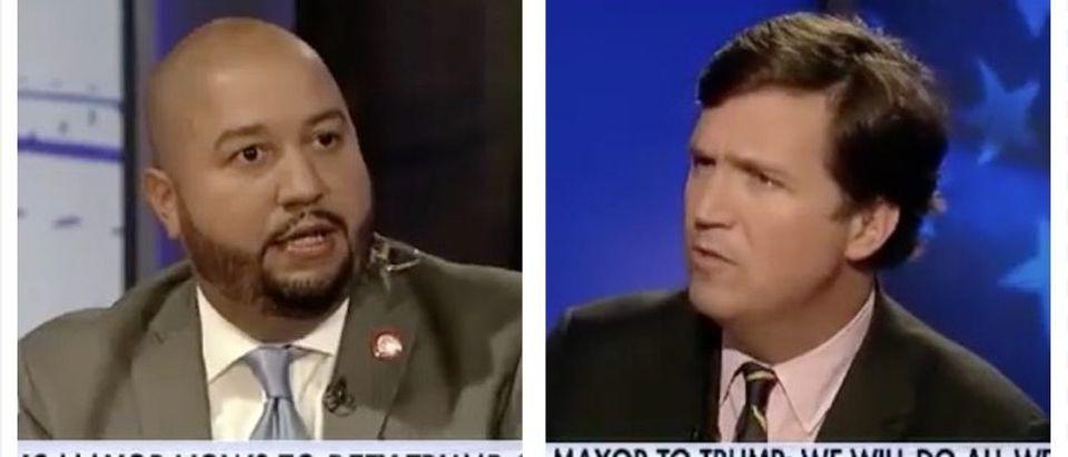 Rafael Salamanca, Tucker Carlson (Fox News)