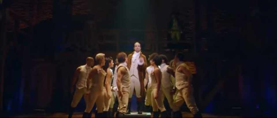 'Hamilton' Broadway Show (PBS News Hour You Tube Video Screen Capture)