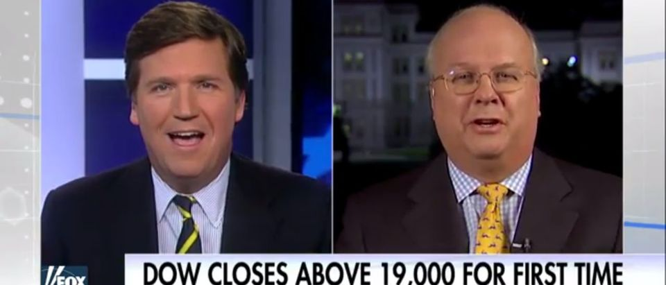 Tucker Carlson Karl Rove Fox News