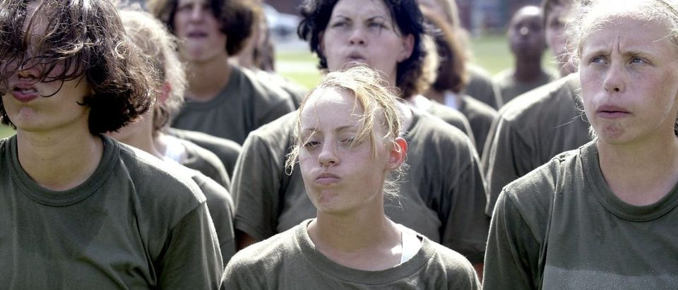 Female Marine Recruits