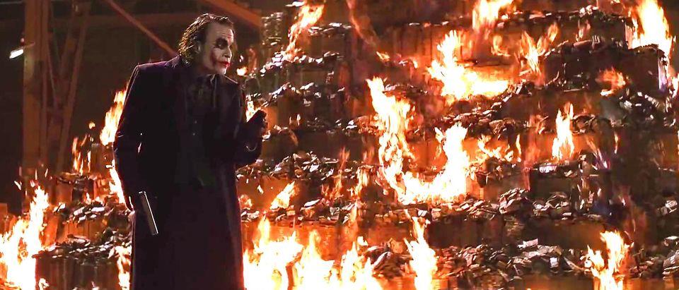 joker bonfire