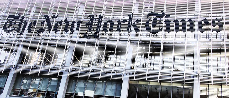 The New York Times (Credit: Erika Cross / Shutterstock.com)