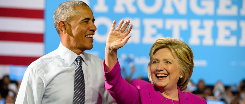 Barack Obama and Hillary Clinton (Credit: Evan El-Amin / Shutterstock.com)