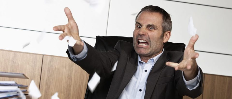 Angry man (Shutterstock)
