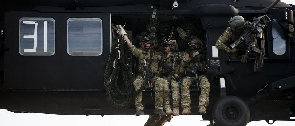 U.S. Army Soldiers from the 7th Special Forces Group