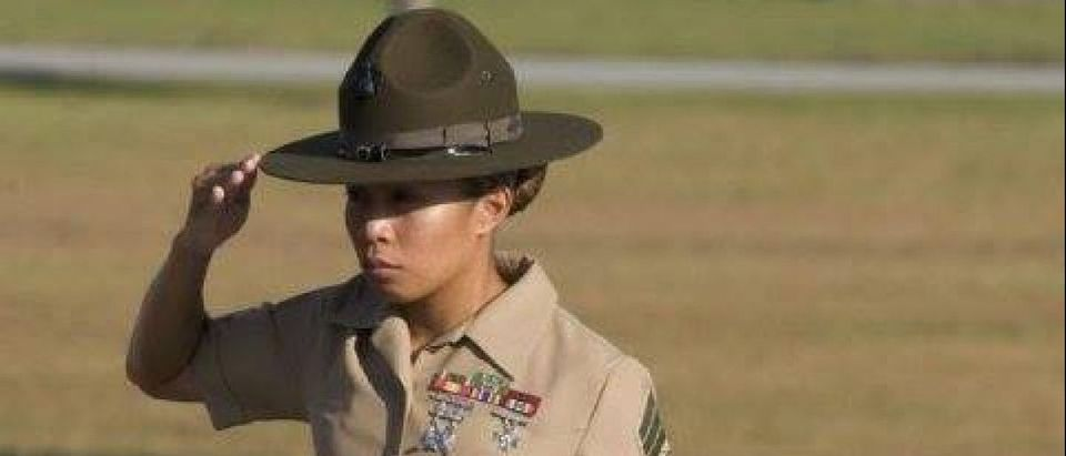 Drill Sergeant Amy Dillon