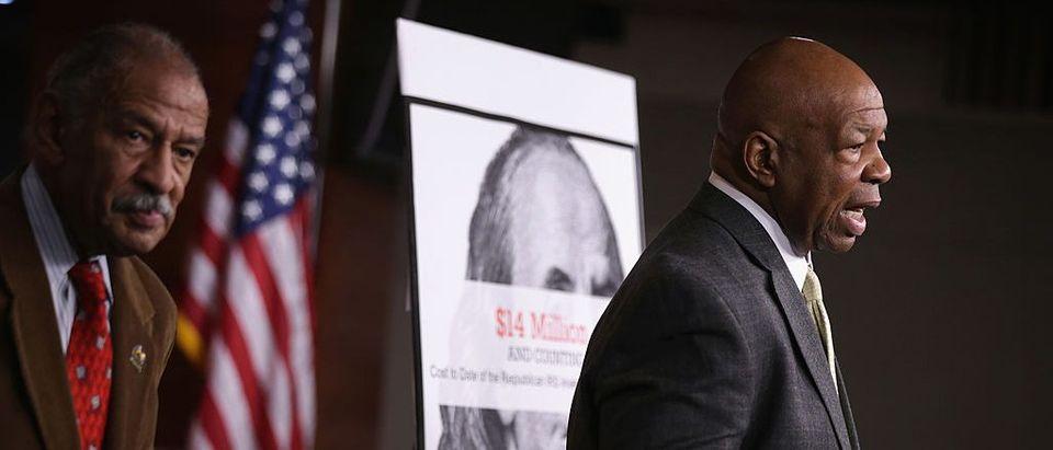 Rep. Elijah E. Cummings And House Democrats Discuss Accuse GOP Of Obstructing The Legislative Process