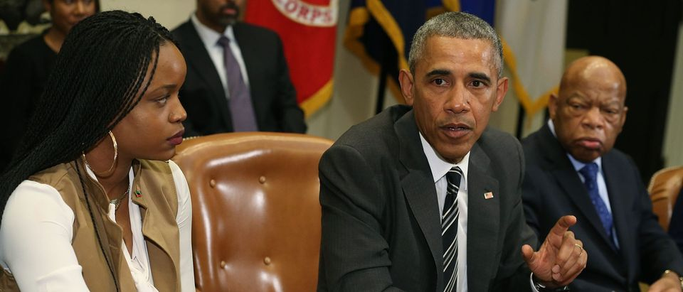 Obama Meets With African American Faith And Civil Rights Leaders
