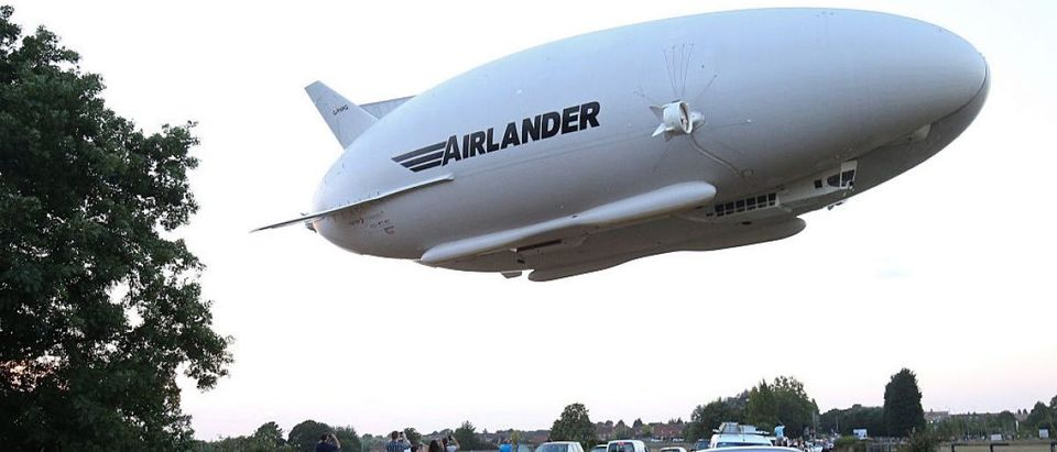 TOPSHOT-BRITAIN-TRANSPORT-TECHNOLOGY-AVIATION-AIRLANDER-HAV