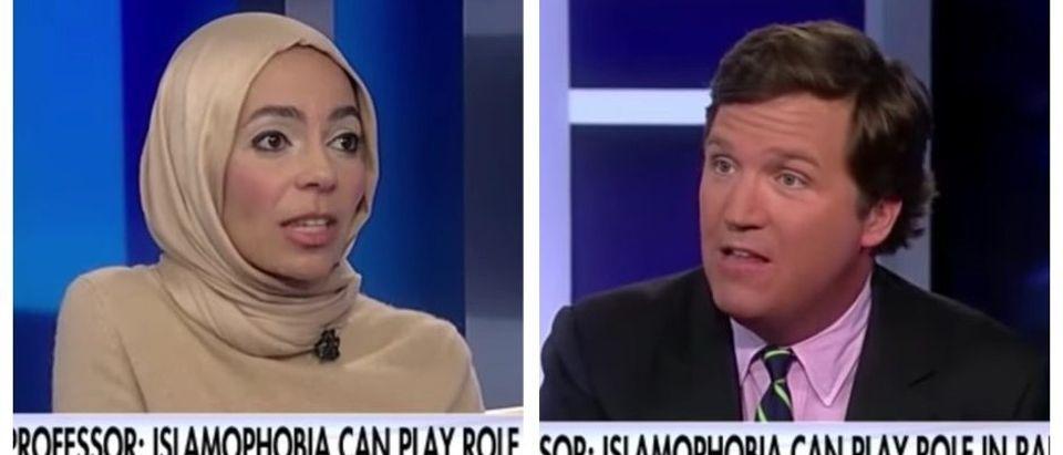 Engy Abdelkader, Tucker Carlson (Fox News)