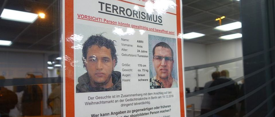 Berlin police offered 100,000 euros to anyone who could lead them to Ansi Amri. (Jacob Bojesson/TheDCNF)