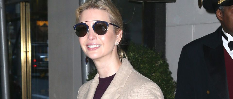 Ivanka Trump Sighting, NYC