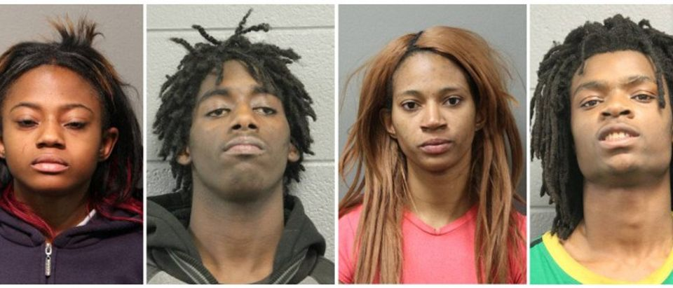 Four people charged with felonies in Chicago Police Department photos