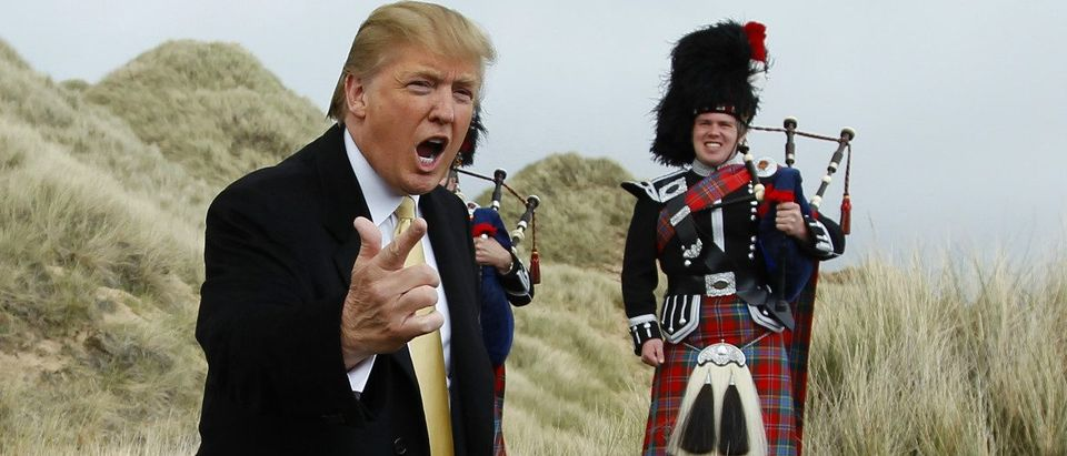 Donald Trump in Scotland: David Moir/shutterstock.com