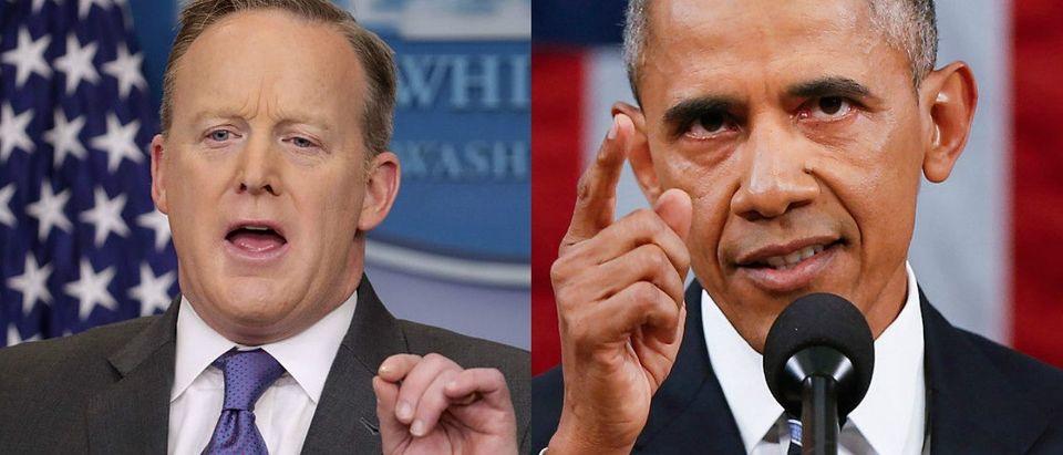Obama, Spicer