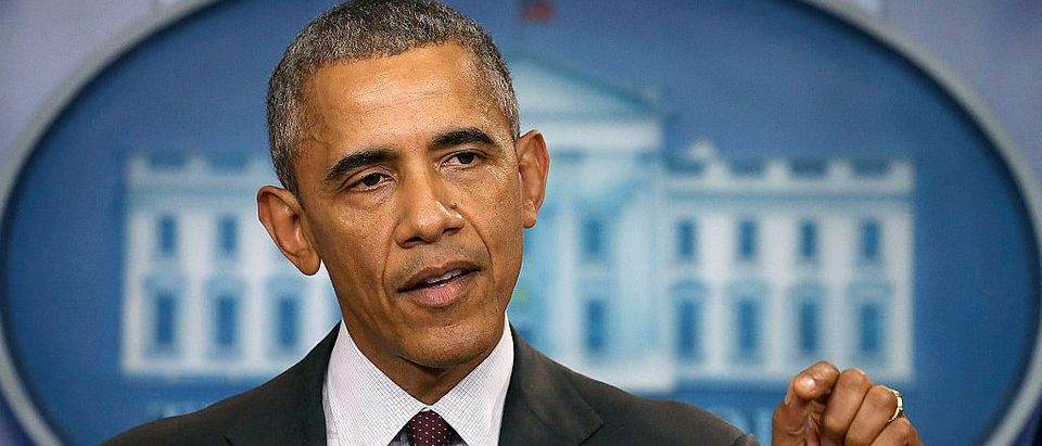 President Obama Speaks On The Mass Shooting At Community College In Oregon