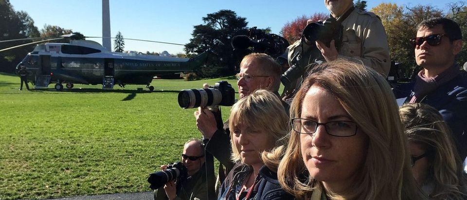 President Obama Departs The White House