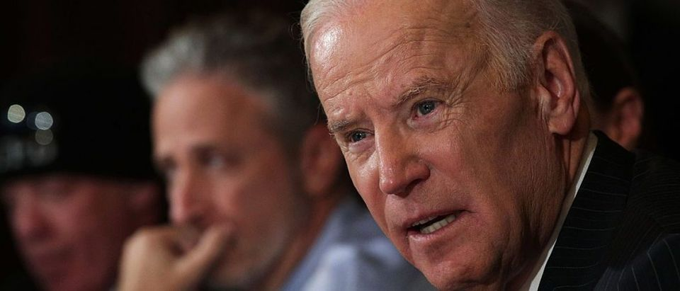 Vice President Biden Hosts Roundtable On His Cancer Moonshot Initiative