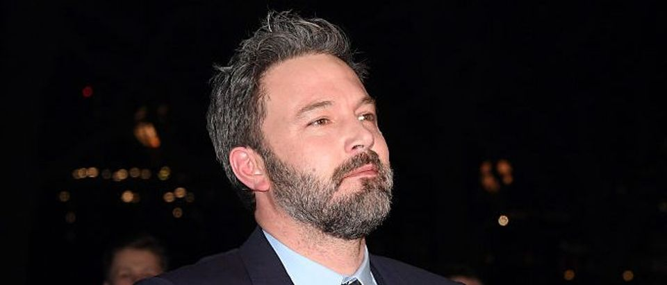 """Actor Ben Affleck attends the film premiere of """"Live By Night"""" on January 11, 2017 in London, United Kingdom. (Photo by Stuart C. Wilson/Getty Images)"""