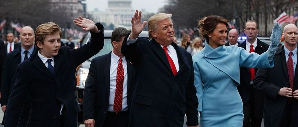 US-POLITICS-TRUMP-INAUGURATION-PARADE