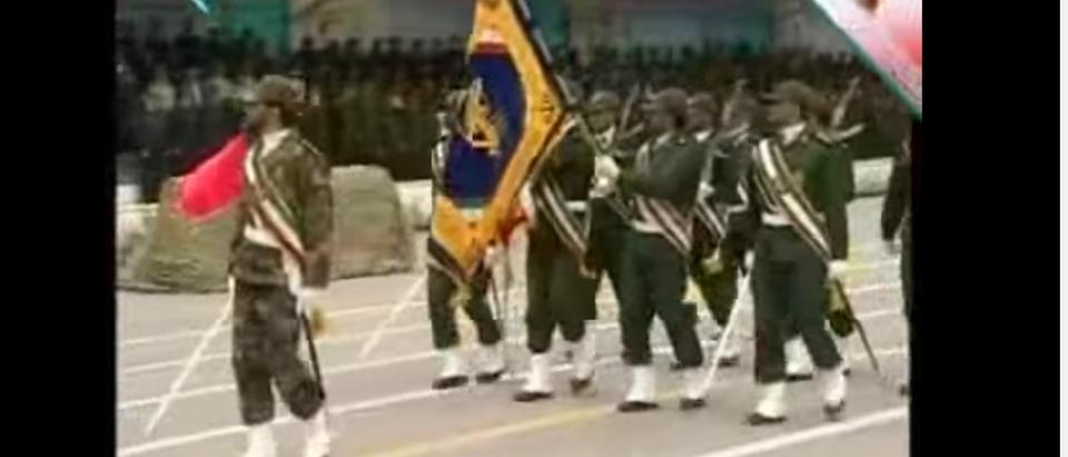 Iranian National Guard (You Tube screen shot / Manuchehr lenziran)