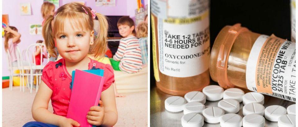 Kindergartner-Opioids