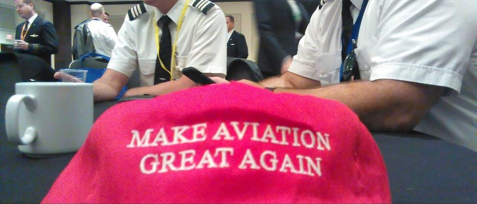 Pilots descend on Washington, D.C. to appeal to President Trump to block an agreement with Norwegian Air: Ted Goodman/The Daily Caller News Foundation