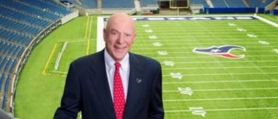 Houston Texans owner Robert McNair at NRG Stadium. (Photo courtesy of the McNair Group.)