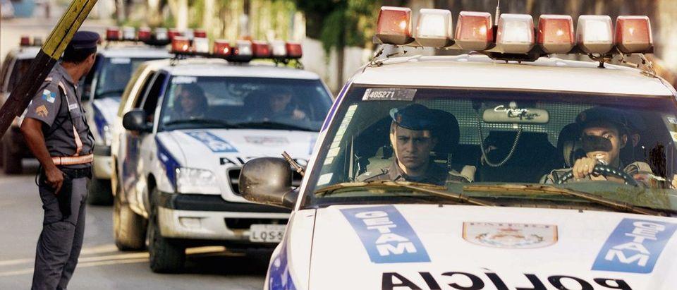 POLICE ENTER RIO DE JANEIRO PRISON COMPLEX DURING A RIOT BY INMATES.