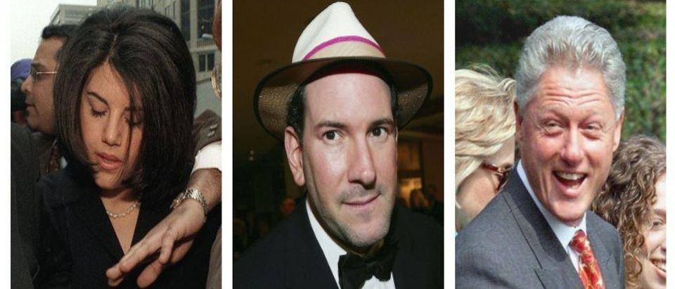 Monica Lewinsky, Matt Drudge, Bill Clinton (Getty Images)