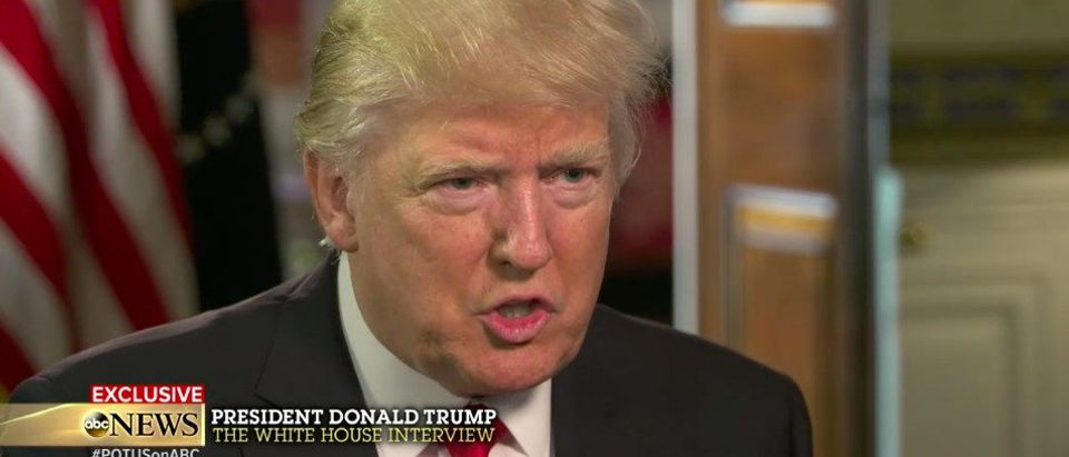 Donald Trump and David Muir (Photo: Screenshot/ABC News)